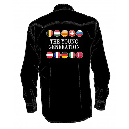 THE YOUNG GENERATION 2019 MAN SHIRT LONG SLEEVES