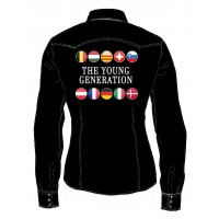 THE YOUNG GENERATION 2019 WOMAN SHIRT LONG SLEEVES