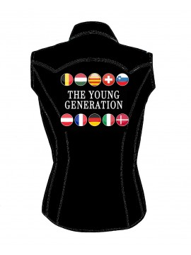 THE YOUNG GENERATION 2019 WOMAN SHIRT SLEEVELESS