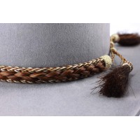 Horsehair band B1 Brown