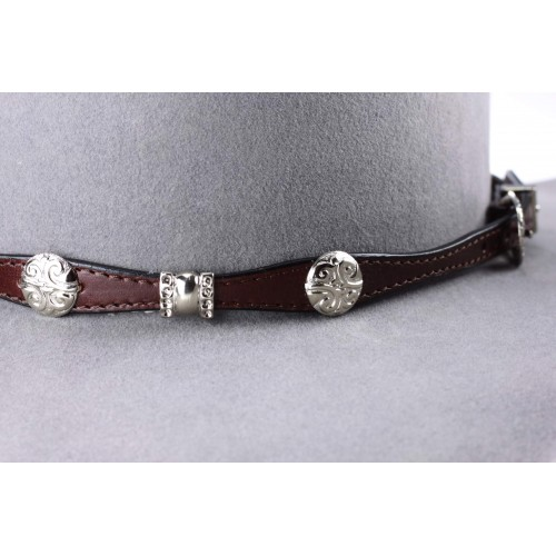 Leather band A10 Brown