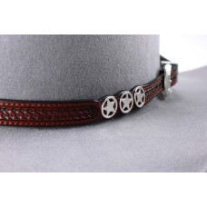 Leather band A11 Brown