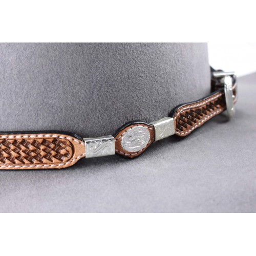 Leather band A12 Camel