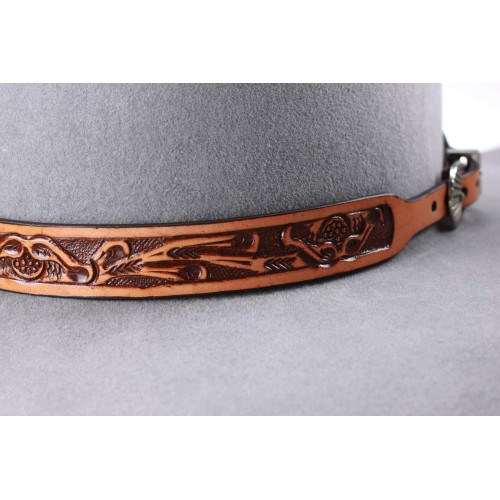 Leather band A14 Camel