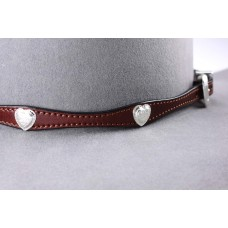 Leather band A18 Brown