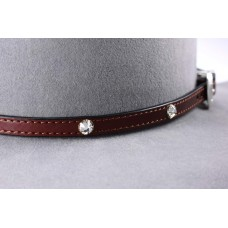 Leather band A19 Brown