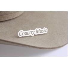 Country Music Pin